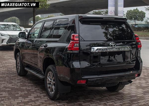 "duoi xe toyota prado 2020 toyota tan cang 7 - Đánh giá xe Toyota Land Prado 2021, Xe SUV 7 chỗ ""chuẩn mực"""