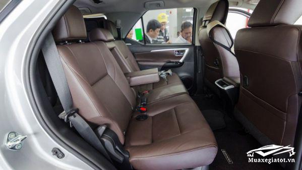 hang ghe thu hai fortuner 2020 may xang 1 cau toyota tan cang 9 - Đánh giá xe Toyota Fortuner 2021, SUV bán chạy nhất Việt Nam
