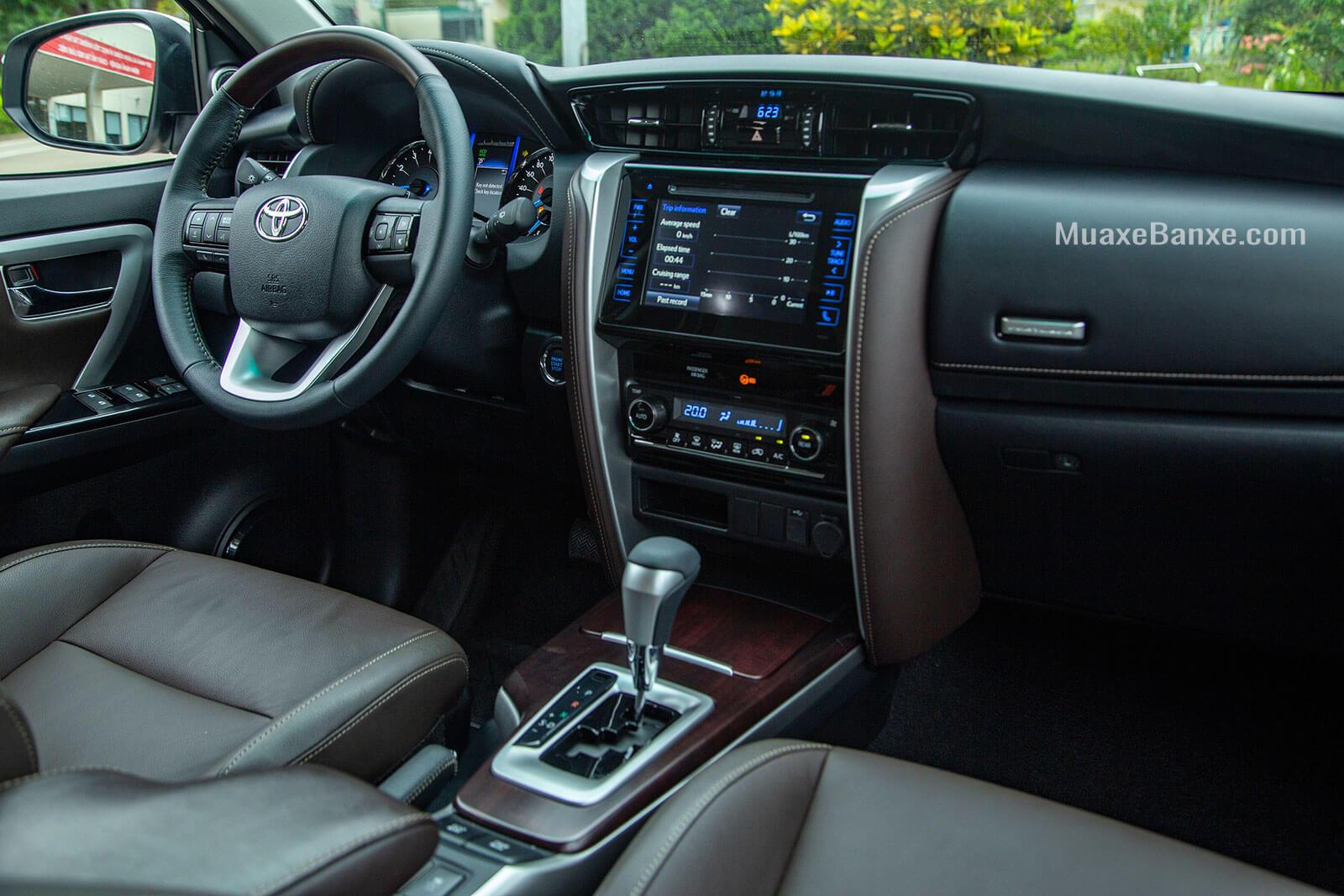 noi that xe toyota fortuner trd sportivo 2020 27l 42 may xang toyota tan cang - Đánh giá xe Toyota Fortuner 2021, SUV bán chạy nhất Việt Nam
