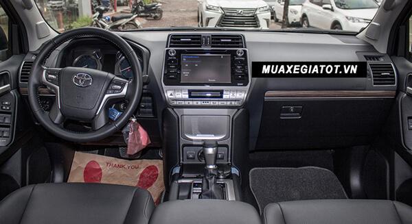 """noi that xe toyota prado 2020 toyota tan cang 19 - Đánh giá xe Toyota Land Prado 2021, Xe SUV 7 chỗ """"chuẩn mực"""""""