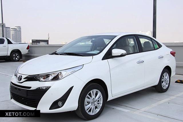 gia xe toyota vios 2021 xetot com 1 - Toyota Vios 2021 với Honda City 2021 ai hơn ai?