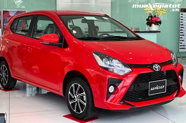 """gia xe toyota wigo 4at 2021 toyotatancang net - Đánh giá xe Toyota Wigo 2021, Xe giá rẻ """"ăn chắc mặc bền"""" của Toyota"""