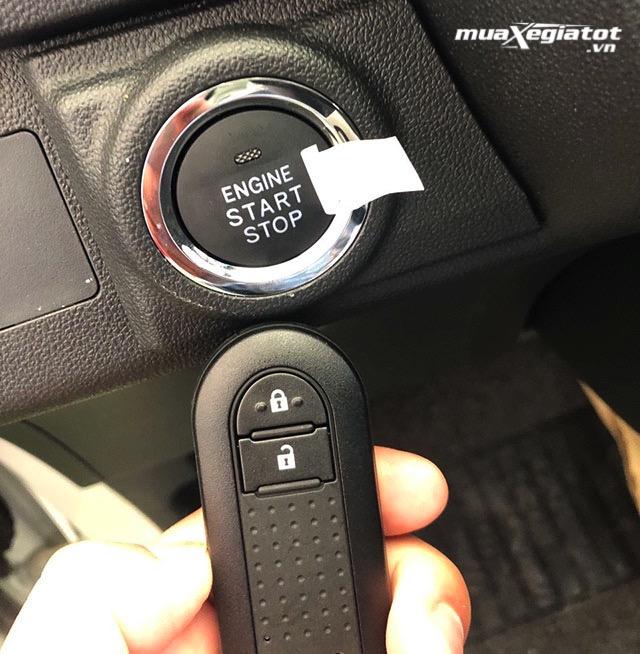 """nut khoi doong xe toyota wigo 4at 2021 toyotatancang net - Đánh giá xe Toyota Wigo 2021, Xe giá rẻ """"ăn chắc mặc bền"""" của Toyota"""
