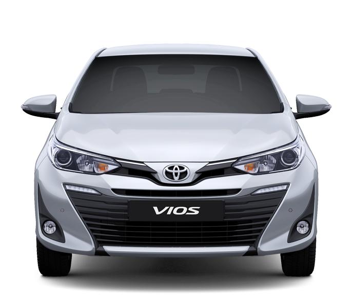 Toyota Vios 1.5E CVT 3 túi khí Đầu xe - Toyota Vios 1.5E CVT 2021 ( 7 túi khí) - Chiến binh của dòng xe 5 chỗ