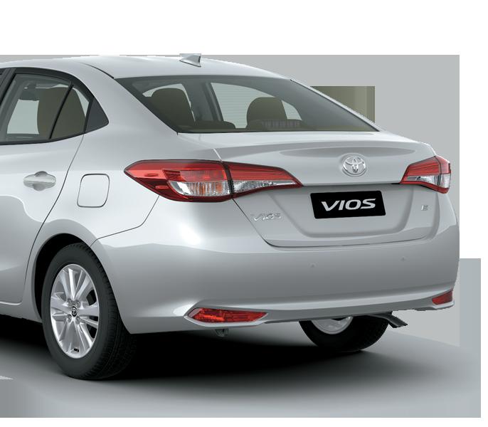 Toyota Vios 1.5E CVT 3 túi khí Cản sau - Toyota Vios 1.5E CVT 2021 ( 7 túi khí) - Chiến binh của dòng xe 5 chỗ