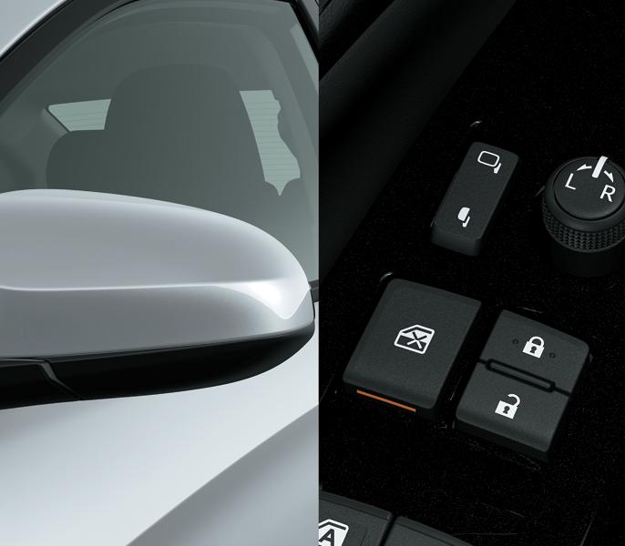 Toyota Vios 1.5E CVT ( 3 túi khí) - Gương chiếu hậu