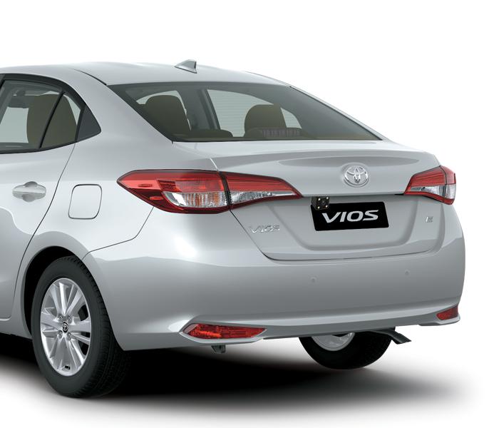 duoi xe toyota vios e mt 3 tui khi 2021 toyota tan cang - Toyota Vios 1.5E MT 2021 (3 túi khí) - Dòng xe 5 chỗ cả nhà cùng yêu