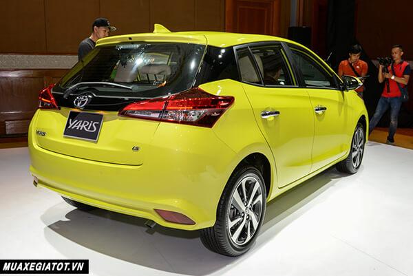 duoi xe toyota yaris 2021 1 5 g toyota tan cang 5 - Đánh giá Toyota Yaris 2021 đang bán tại thị trường Việt Nam