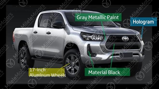 thiet ke cua toyota hilux 2021 toyota tan cang - Hé lộ thiết kế Toyota Hilux 2021 thế hệ mới vừa ra mắt