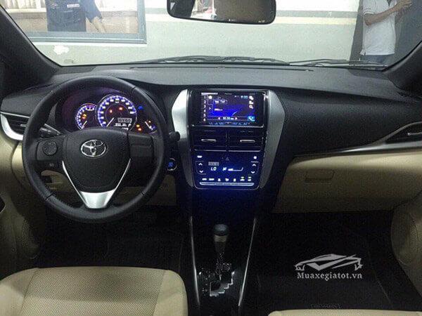 tien nghi xe toyota yaris 2021 toyota tan cang - Đánh giá Toyota Yaris 2021 đang bán tại thị trường Việt Nam