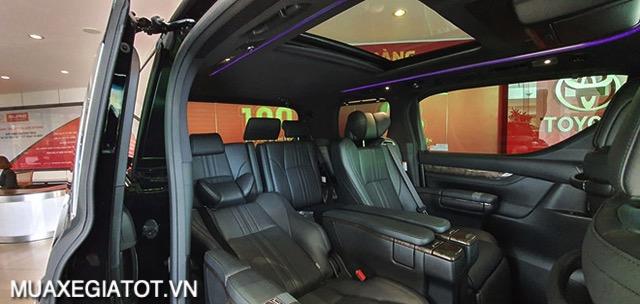 hang ghe thu 2 toyota alphard 2021 toyotatancang net - Chi tiết Toyota Alphard Luxury 2021 dòng xe 7 chỗ đẳng cấp thương gia
