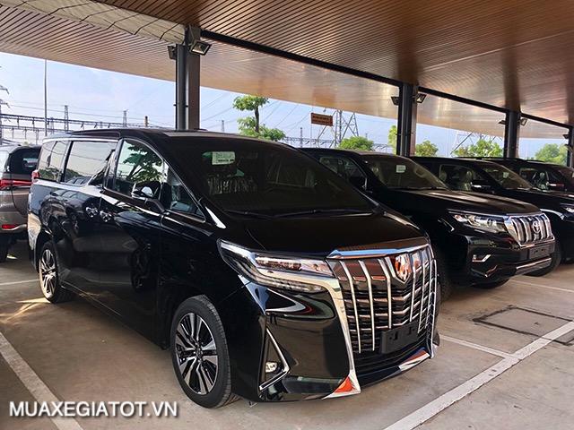 hinh xe toyota alphard 2021 toyotatancang net - Chi tiết Toyota Alphard Luxury 2021 dòng xe 7 chỗ đẳng cấp thương gia
