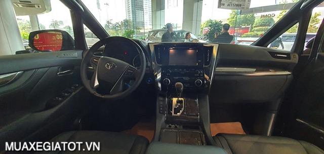khu vuc tai xe toyota alphard 2021 toyotatancang net - Chi tiết Toyota Alphard Luxury 2021 dòng xe 7 chỗ đẳng cấp thương gia