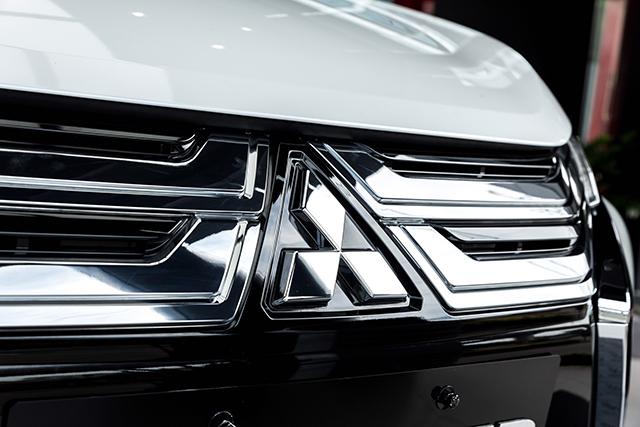 logo truoc mitsubishi xpander 2020 2021 at muaxegiatot vn - Chi tiết Mitsubishi Xpander 2021 - Sang trọng, Hiện đại