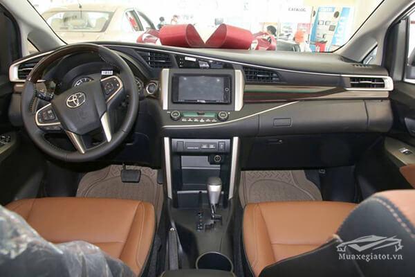 noi that toyota innova 2 0 v 7 cho toyotatancang net 10 - Chi tiết xe Toyota Innova 2.0V AT 2021 7 chỗ với thiết kế sang trọng