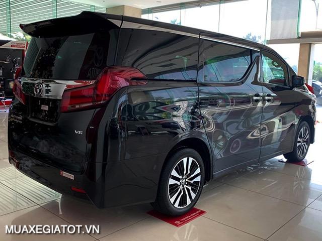 than xe toyota alphard 2021 toyotatancang net - Chi tiết Toyota Alphard Luxury 2021 dòng xe 7 chỗ đẳng cấp thương gia