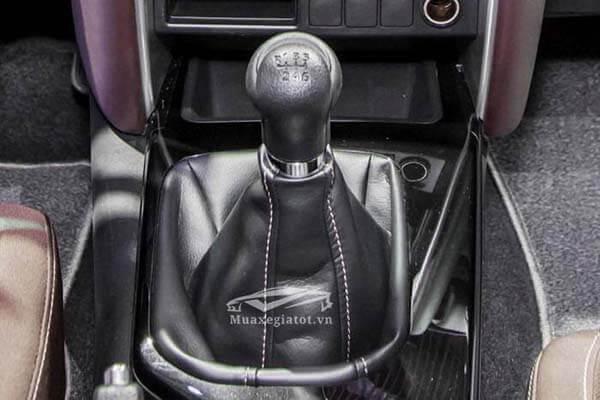 toyota fortuner 2021 may dau so san toyotatancang net 11 - Toyota Fortuner 2.4MT 4x2 2021, Xe 7 chỗ máy dầu số sàn tiết kiệm