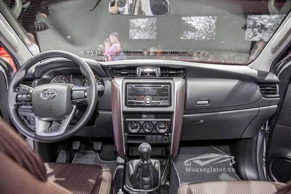 toyota fortuner 2021 may dau so san toyotatancang net 5 - Toyota Fortuner 2.4MT 4x2 2021, Xe 7 chỗ máy dầu số sàn tiết kiệm