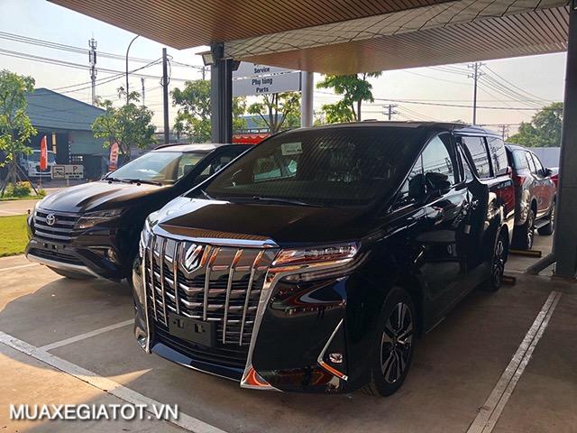 xe mau den toyota alphard 2021 toyotatancang net - Chi tiết Toyota Alphard Luxury 2021 dòng xe 7 chỗ đẳng cấp thương gia