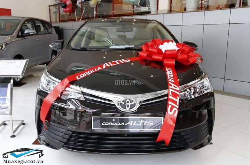 Toyota Corolla Altis 1 8E MT 2017 2021 Mau den 1 toyotatancang net - Chi tiết Toyota Corolla Altis 1.8E MT 2021 ( số sàn) đẹp mê ly đang bán tại Việt Nam