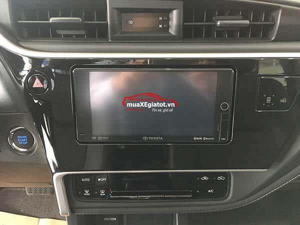 corolla altis 2021 2 0 CVT luxury mau den dau dvd - Toyota Corolla Altis 2.0V 2021 - Bá chủ của dòng xe 5 chỗ tại Việt Nam