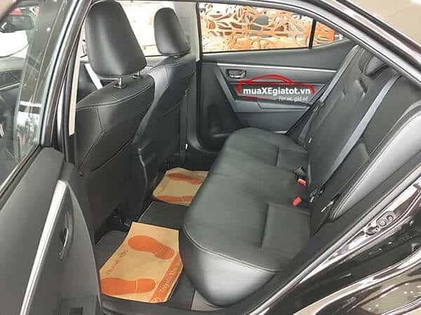 corolla altis 2021 2 0 CVT luxury mau den hang ghe sau - Toyota Corolla Altis 2.0V 2021 - Bá chủ của dòng xe 5 chỗ tại Việt Nam