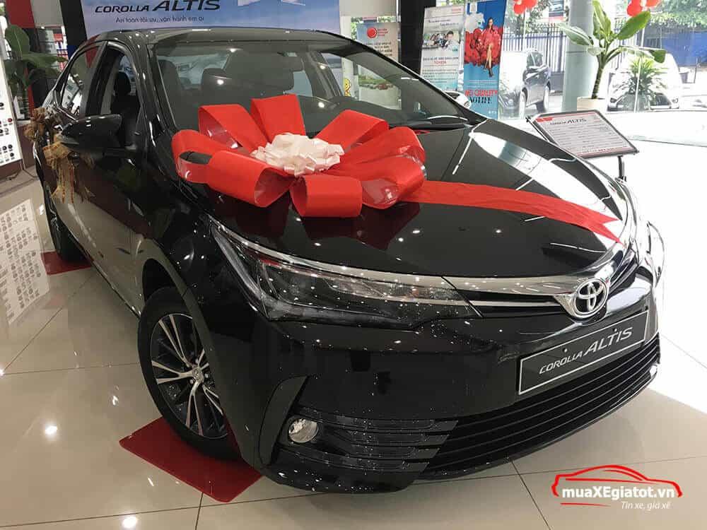 corolla altis 2021 2 0 CVT luxury mau den he thong den truoc - Toyota Corolla Altis 2.0V 2021 - Bá chủ của dòng xe 5 chỗ tại Việt Nam