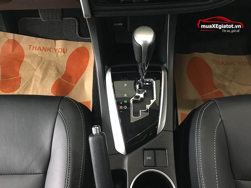 corolla altis 2021 2 0 CVT luxury mau den hop so tu dong vo cap - Toyota Corolla Altis 2.0V 2021 - Bá chủ của dòng xe 5 chỗ tại Việt Nam