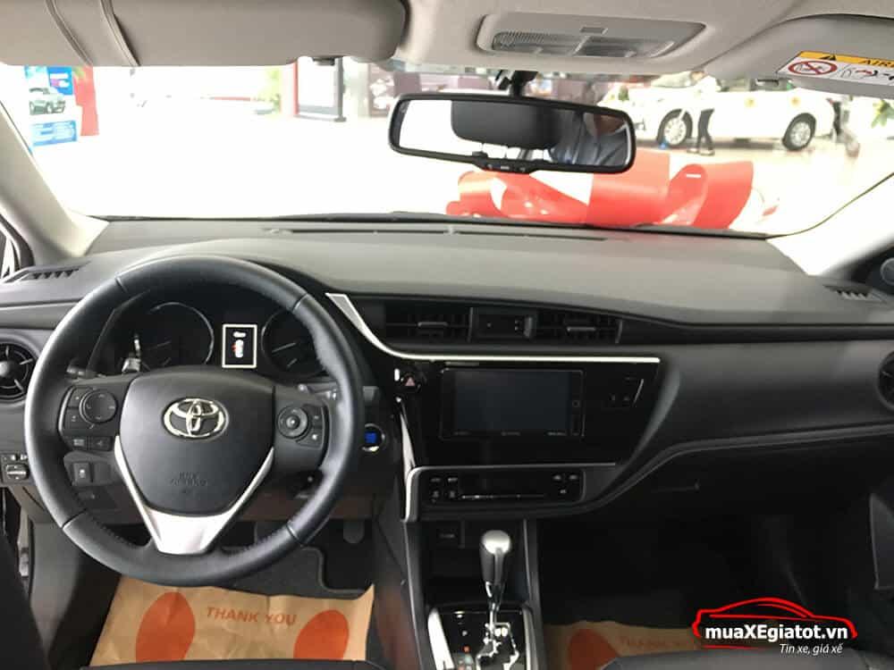 corolla altis 2021 2 0 CVT luxury mau den noi that xe - Toyota Corolla Altis 2.0V 2021 - Bá chủ của dòng xe 5 chỗ tại Việt Nam