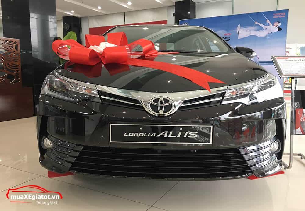 corolla altis 2021 2 0 CVT luxury mau den thiet ke dau xe - Toyota Corolla Altis 2.0V 2021 - Bá chủ của dòng xe 5 chỗ tại Việt Nam