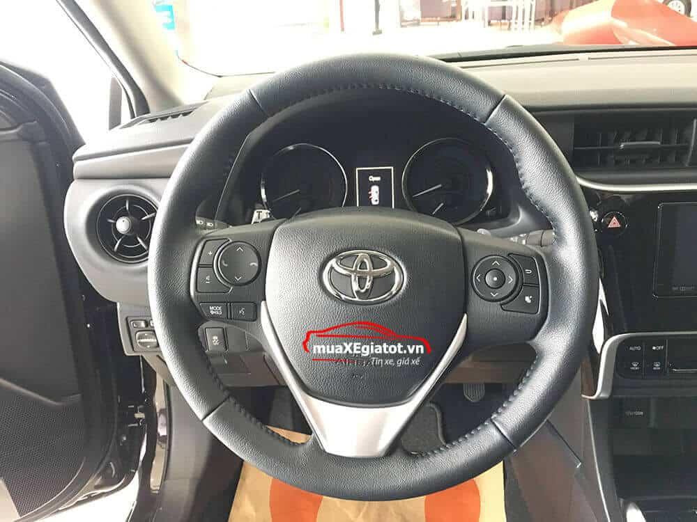 corolla altis 2021 2 0 CVT luxury mau den vo lang tay lai - Toyota Corolla Altis 2.0V 2021 - Bá chủ của dòng xe 5 chỗ tại Việt Nam