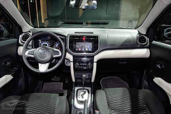 noi that xe toyota rush 15 at 2021 muaxegiatot vn 10 - Mua xe chạy dịch vụ chọn Toyota Rush AT hay Toyota Innova E số sàn