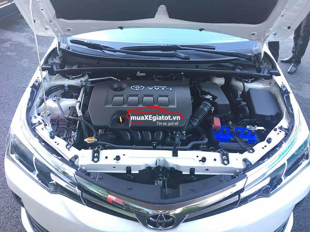 toyota altis 1 8 g cvt 2021 mau trang muaxegiatot vn dong co 18g - Chi tiết Toyota Corolla Altis 1.8E MT 2021 ( số sàn) đẹp mê ly đang bán tại Việt Nam