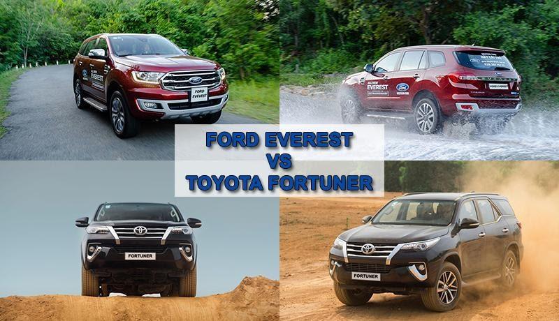 Khả năng vận hành giữa bản Mỹ và Nhật  - Phiên bản máy dầu số sàn giữa Toyota Fortuner 2021 và Ford Everest 2021 – Ai mới là kẻ thống trị?