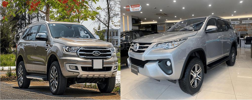 Sự cạnh tranh giữa Toyota và Ford bản 2021  - Phiên bản máy dầu số sàn giữa Toyota Fortuner 2021 và Ford Everest 2021 – Ai mới là kẻ thống trị?