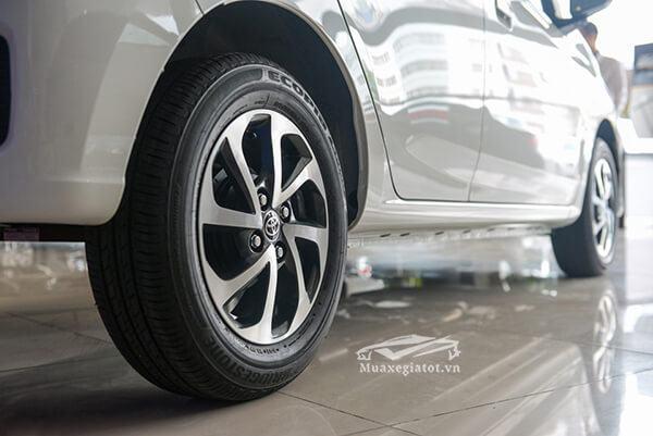"""mam xe toyota wigo 2021 2022 1 2at muaxegiatot vn 4 - Cuộc """"đụng độ"""" thú vị giữa Vinfast Fadil và Toyota Wigo (phiên bản cao cấp)"""