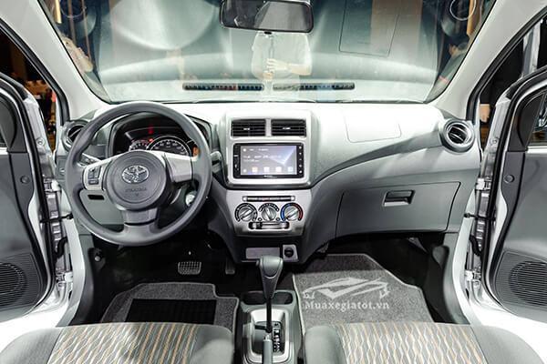 """noi that xe toyota wigo 12 g at 2021 2022 muaxegiatot vn 11 - Cuộc """"đụng độ"""" thú vị giữa Vinfast Fadil và Toyota Wigo (phiên bản cao cấp)"""