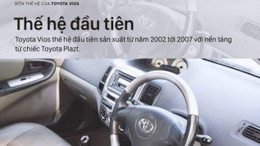 the he thu 1 xe toyota vios muaxegiatot vn 373x210 - Tìm hiểu các thế hệ và giá xe Toyota Vios cũ bán tại Việt Nam