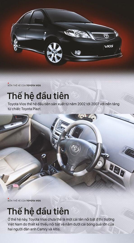 the he thu 1 xe toyota vios muaxegiatot vn - Tìm hiểu các thế hệ và giá xe Toyota Vios cũ bán tại Việt Nam